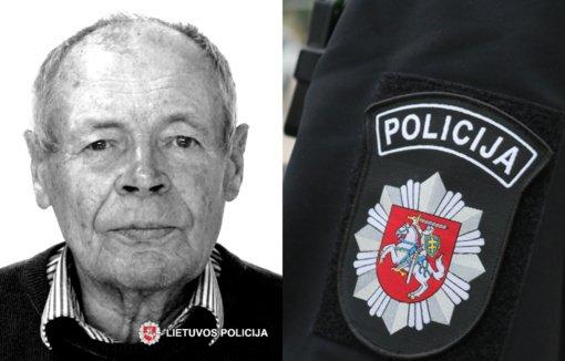 Vilniaus rajono policija ieško be žinios dingusio vyro