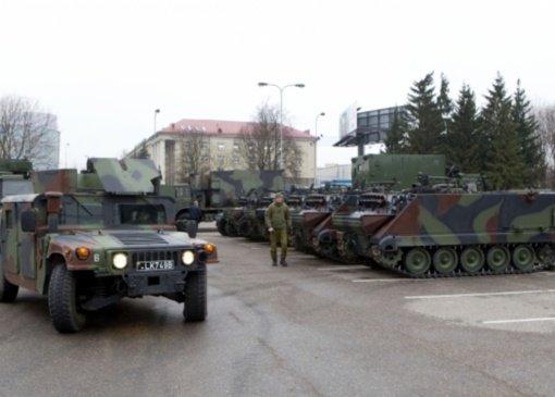 Pagerbiant partizanus, Lietuvos kariuomenė rengia žygį per Pietų Lietuvą