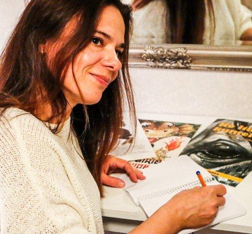 Susitikimas su vaikiškų knygelių autore Viktorija Guseinova