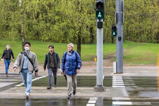 Sostinės Saulėtekio alėja – saugesnė dviratininkams, pėstiesiems, viešojo transporto keleiviams
