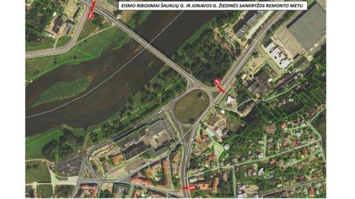Remontui uždaromas Kauno pilies žiedas