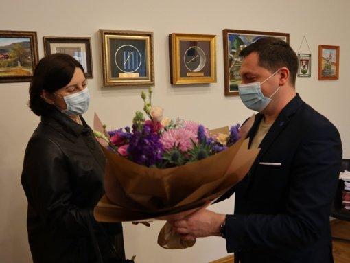Pasveikinta naujoji Ignalinos ligoninės vadovė