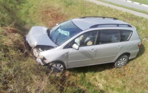 Pakruojyje pavogtą automobilį pareigūnai rado Kelmės rajono griovyje (vaizdo įrašas)