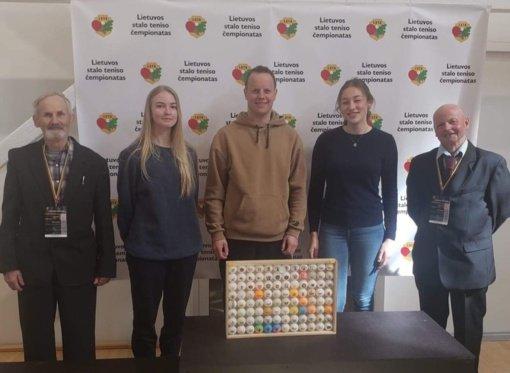 Lietuvos stalo teniso čempione – istorinis pasiekimas