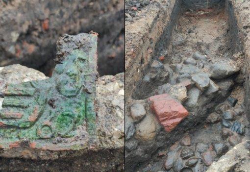 Biržuose po J. Janonio aikšte – 400 metų senumo pamatai ir radiniai