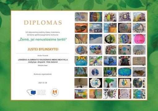 Aplinkos apsaugos ministerijos organizuotame konkurse dalyvavo ir joniškiečiai