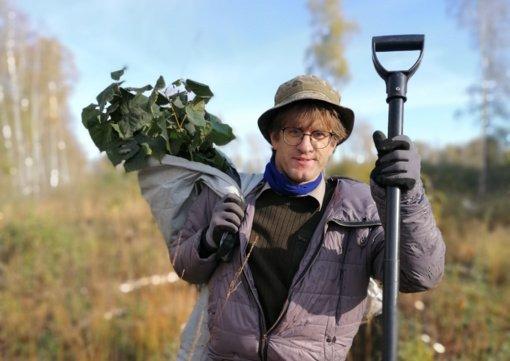 Parama padeda atkurti miškus