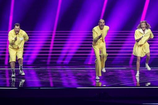 """Paskelbta """"Eurovizijos"""" finalo pasirodymų tvarka: """"The Roop"""" scenoje pasirodys 18-ti"""