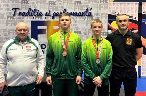 Laisvųjų imtynių turnyre kelmiškis P. Leščauskas iškovojo medalį