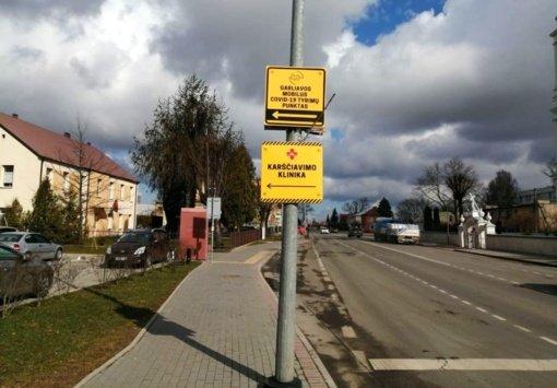 COVID-19 testus galima atlikti ir Kauno rajono mobiliuose patikros punktuose