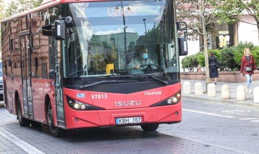 Vilniaus viešojo transporto profsąjunga nuo lapkričio 8-osios skelbia neterminuota streiką