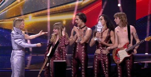 """""""Eurovizijos"""" nugalėtojai pareiškė esantys pasirengę atlikti narkotinių medžiagų testus"""