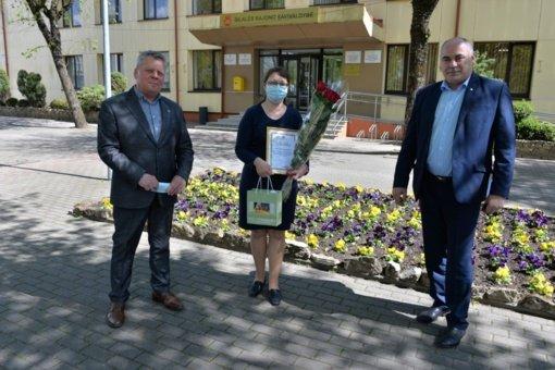 Apdovanota savanorė Geda Kačinauskienė