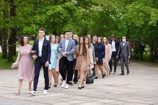 Paskutinis skambutis nuaidėjo Lieporių gimnazijos abiturientams