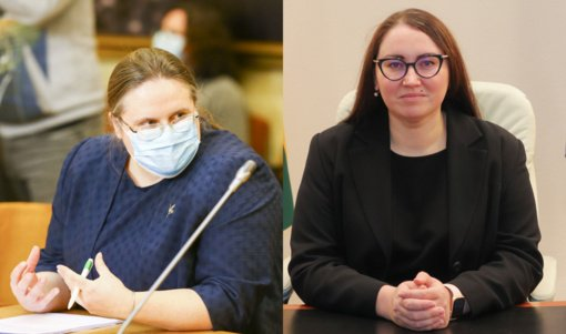 Komiteto posėdyje A. Širinskienė susiginčijo su teisingumo ministre