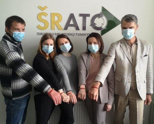 Visoje Lietuvoje vykdoma DUOday diena atkeliavo ir į ŠRATC biurą
