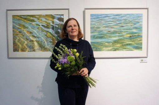 Dusetų dailės galerijoje atidaryta menininkės Eglės Lipeikaitės paroda