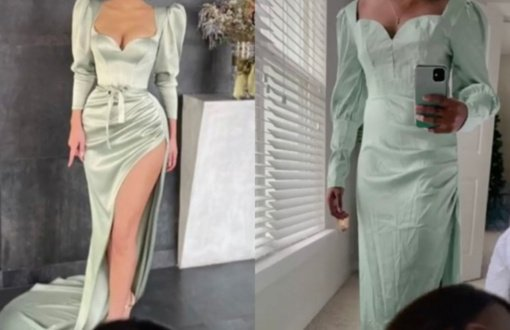 Suknelės pirkimas internetu prajuokino iki ašarų