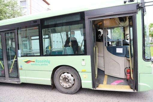"""""""Raseinių autobusų parkas"""" įsigijo antrą žemagrindį autobusą"""