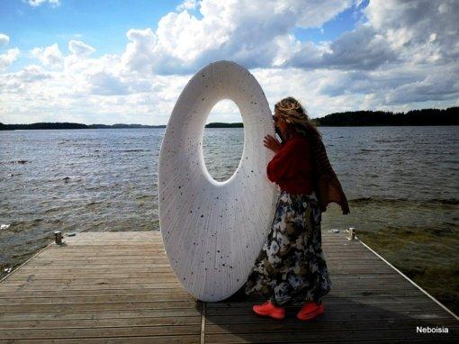 """""""Žvejo krante"""" – naujos skulptūros"""