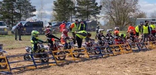 Sezono pradžia Utenos motokrosininkams – sėkminga
