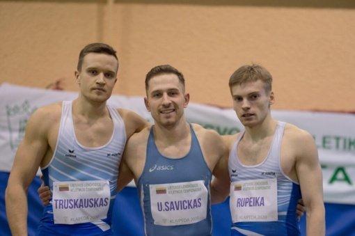 Per plauką: bėgikui iki Lietuvos rekordo pritrūko šimtosios sekundės dalies