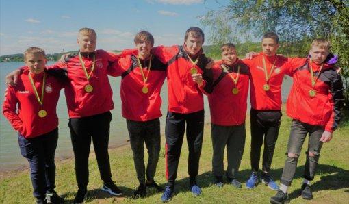 Alytiškiai iškovojo aukso ir bronzos medalius
