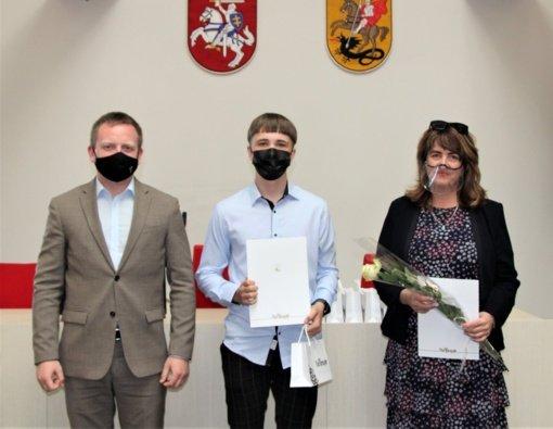 Marijampolė didžiuojasi mokinių pasiekimais Lietuvos olimpiadose
