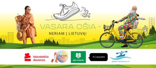 """Etaplius.lt startuoja analogų neturintis iššūkis """"Vasara ošia - neriam į Lietuvą"""": kartu nueikime 26 milijonus žingsnių!"""