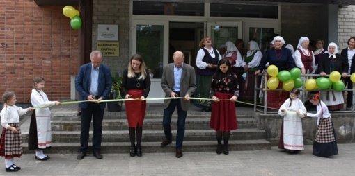 Marcinkonių kultūros centras persikėlė į naujas patalpas