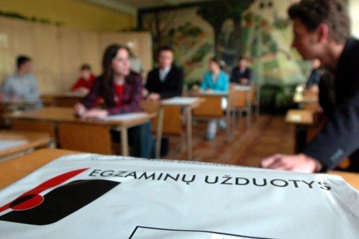 NVSC: izoliacijoje esantys abiturientai į egzaminus bus išleidžiami tik užpildę prašymą internetu