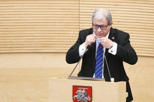 """""""Valstiečiai"""" į Trakų merus kelia buvusio Genocido centro vadovo A. Jakubausko kandidatūrą"""