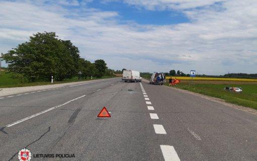 Savaitė šalies keliuose – eismo įvykiuose žuvo trys jauni vyrai