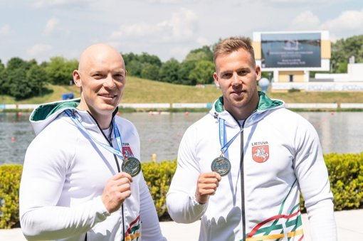 Europos čempionate Lietuvos baidarininkai ir kanojininkai iškovojo du medalius