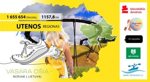 """""""Vasara ošia – neriam į Lietuvą"""": antrą iššūkio savaitę keliaujame į Utenos regioną"""