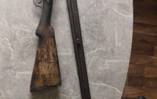 Vilniaus rajone rastas nelegaliai laikomas ginklas