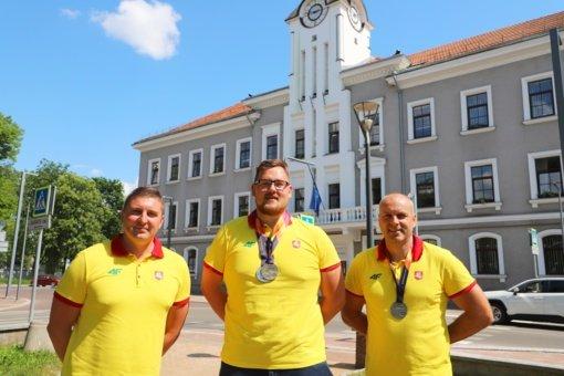 Pasveikinti Europos neįgaliųjų lengvosios atletikos čempionato medalininkai