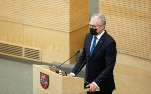 Svarbiausi antradienio įvykiai: Prezidento pranešimas, tarptautinė policijos operacija, svetainių sutrikimai