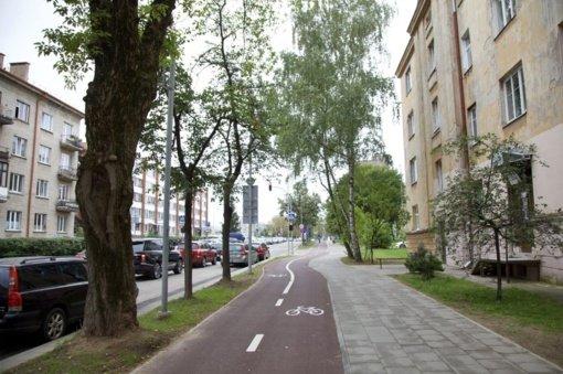 Sostinės Žalgirio gatvėje tęsiami susisiekimo infrastruktūros darbai