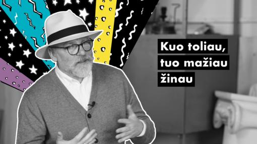 "#UNIKALU. V. Dambrauskas: ""Virtualume mes esam tikresni"""