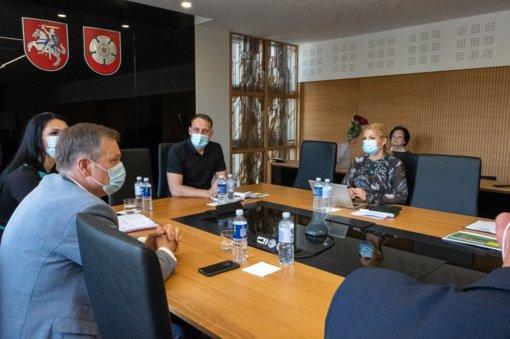 Alytaus miesto ir rajono merai sėdo prie derybų stalo