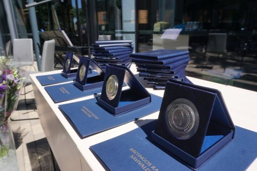 Atminimo medaliai – gabiausiems Kretingos rajono moksleiviams