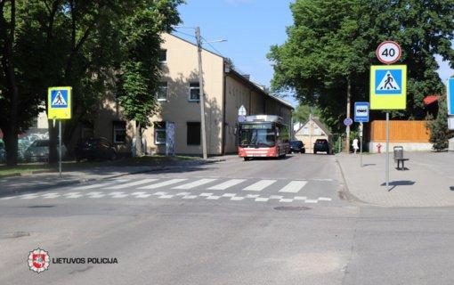 Vilniuje autobusas partrenkė mergaitę