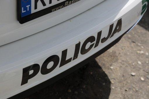 Dėl radinio naujakurys kreipėsi į policiją