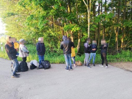 Palapines užsieniečių apgyvendinimui skirs Lietuvos kariuomenė