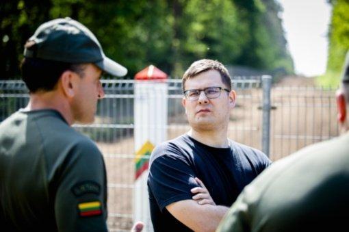 L. Kasčiūnas: Pasienyje su Baltarusija reikia ne tik stebėjimo sistemų, bet ir tvoros