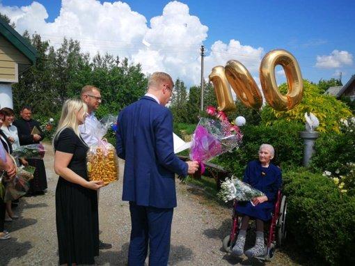 Kaišiadorių rajono gyventoja Marė Viktaravičienė minėjo šimto metų jubiliejų