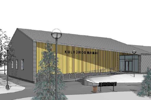 Endriejavo kultūros namų rekonstrukcija: skelbiamas naujas konkursas
