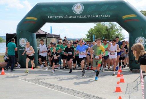 Zapyškyje surengtame bėgime jėgas išmėgino penkių valstybių sportininkai