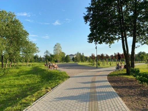 Tauragės Kartų parką papildys lauko treniruokliai